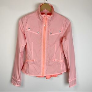 Lululemon Out and About Spring Jacket Pink Size 4